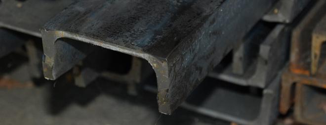 Melegen hengerelt U-acélok (UPN gerenda) - Illusztráció