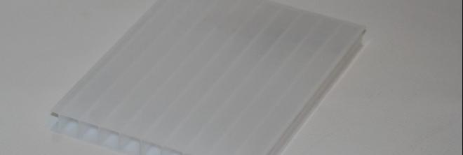 Üregkamrás opál polikarbonát lemez - Illusztráció