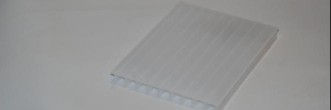 Üregkamrás solar polikarbonát lemez - Illusztráció