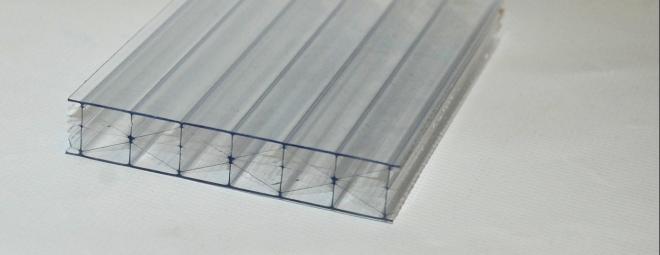 Üregkamrás víztiszta polikarbonát lemez - Illusztráció